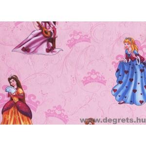 Tapéta simplex Hercegnők rózsaszín