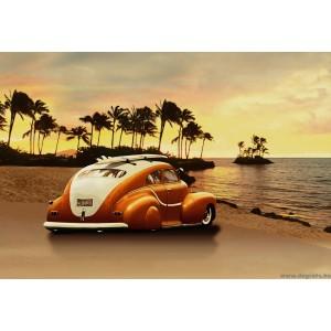Fotótapéta Hawaii Vintázs