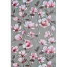 Tapéta simplex Tatiana fekete-rózsaszín