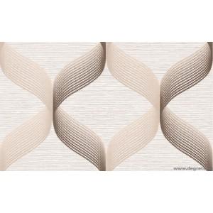 Tapéta vinyl absztrakció hullám  bézs