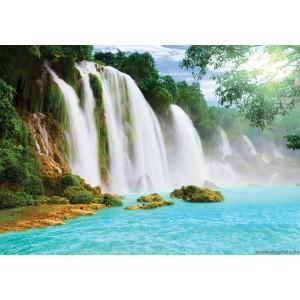 Fotótapéta Paradicsomi vízesés 2 3D L