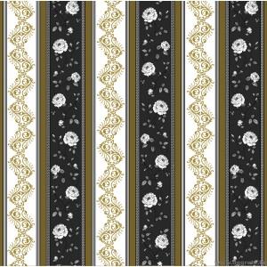 Tapéta duplex Vals-Versace fekete