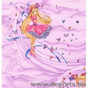 Tapéta simplex Varázslat rózsaszín