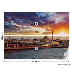 Fotótapéta Napnyugta Isztambulban