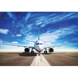 Fotótapéta Repülőgép a pályán