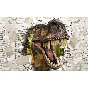 Fotótapéta T-Rex 2 3D L