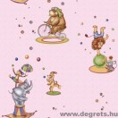 Tapéta simplex Cirkusz rózsaszín