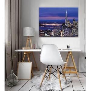 Vászonkép Megapolisz San Francisco L