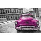 Fotótapéta Vintázs  autó lila