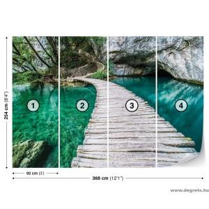Fotótapéta A híd a lagúnában  3D XL