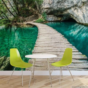 Fotótapéta A híd a lagúnában 3D L