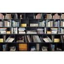 Fotótapéta Könyvtár  2 3D L