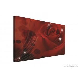 Vászonkép rózsa 3D absztrakció