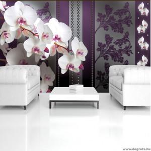 Fotótapéta Orchidea elegáns 2 3D L