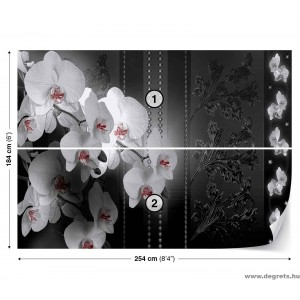 Fotótapéta Orchidea 3D absztrakció