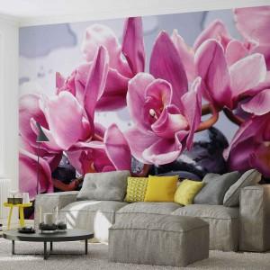 Fotótapéta orchideák Pihenés  3D
