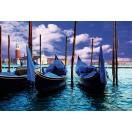 Fotótapéta Velencei gondolák