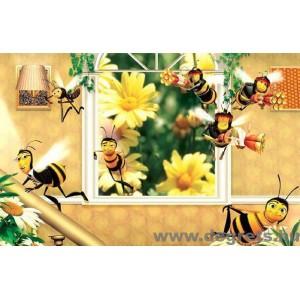 Fotótapéta Méhek