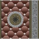 Tapéta simplex Eileen 3D barna