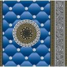 Tapéta simplex Eileen 3D kék