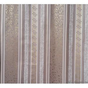Tapéta papír Csíkos Versace barna