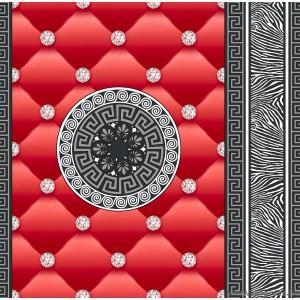 Tapéta simplex Eileen 3D piros