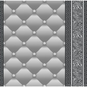 Tapéta simplex Eileen 3D 2 szürke