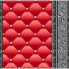 Tapéta simplex Eileen 3D 2 piros