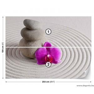 Fotótapéta Spa orchidea lila