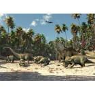 Fotótapéta Dinoszauruszok 3D