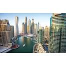 Fotótapéta Dubai jachtkikötő