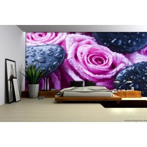 Fotótapéta rózsák pihenés