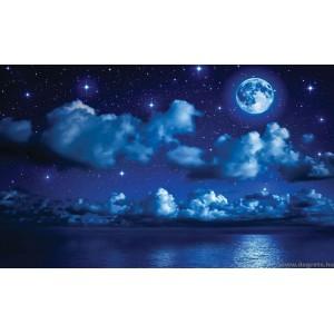Fotótapéta Éjszaka a tengernél