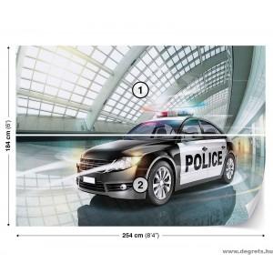 Fotótapéta Rendőr