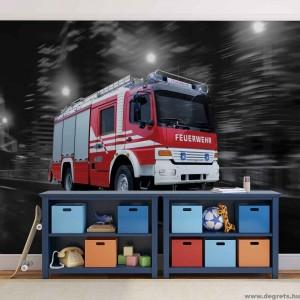 Fotótapéta Tűzoltó autó