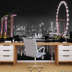 Fotótapéta Szingapúr láthatár