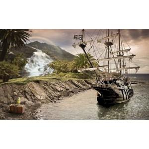 Fotótapéta Kalóz hajó