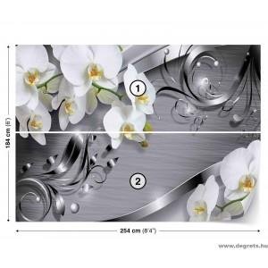 Fotótapéta absztrakció orchideák 4 3D