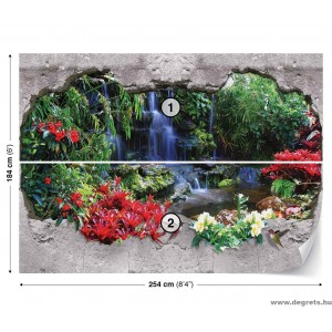 Fotótapéta Paradicsomi vízesés 1 3D L 1