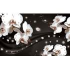 Fotótapéta absztrakció orchideák 2 3D L
