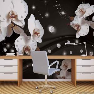 Fotótapéta absztrakció orchideák 2 3D XL