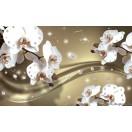 Fotótapéta Absztrakció orchideák 5 3D 2XL Vlies