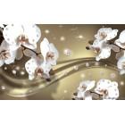 Fotótapéta Absztrakció orchideák 5 3D L