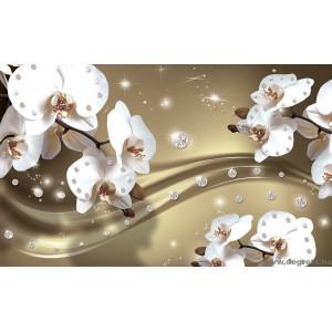 Fotótapéta Absztrakció orchideák 5 3D XL