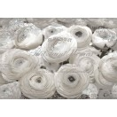 Fotótapéta fehér rózsák - Vintázs  3D