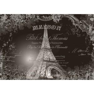 Fotótapéta Eiffel Torony - Vintázs