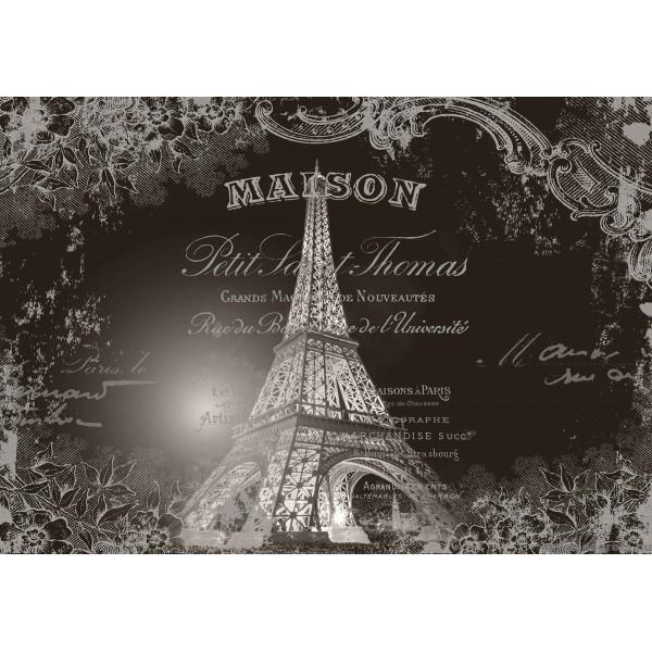 ᐉ Fotótapéta Eiffel Torony - Vintázs — Degrets