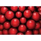 Fotótapéta piros Labdák  3D