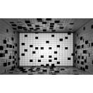 Fotótapéta absztrakció négyzetek 3D