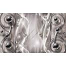 Fotótapéta absztrakció - ezüst 3D